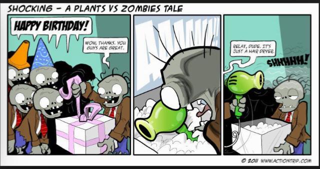 A zombies worst nightmare - meme
