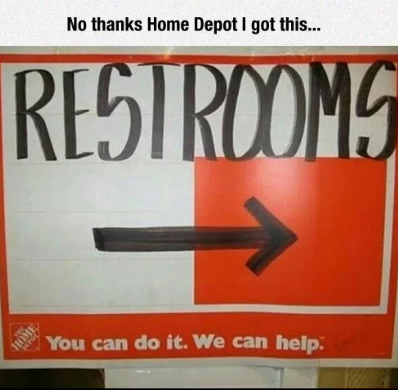 Home Depot - meme