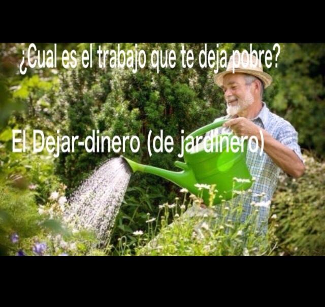 Jardinero  - meme