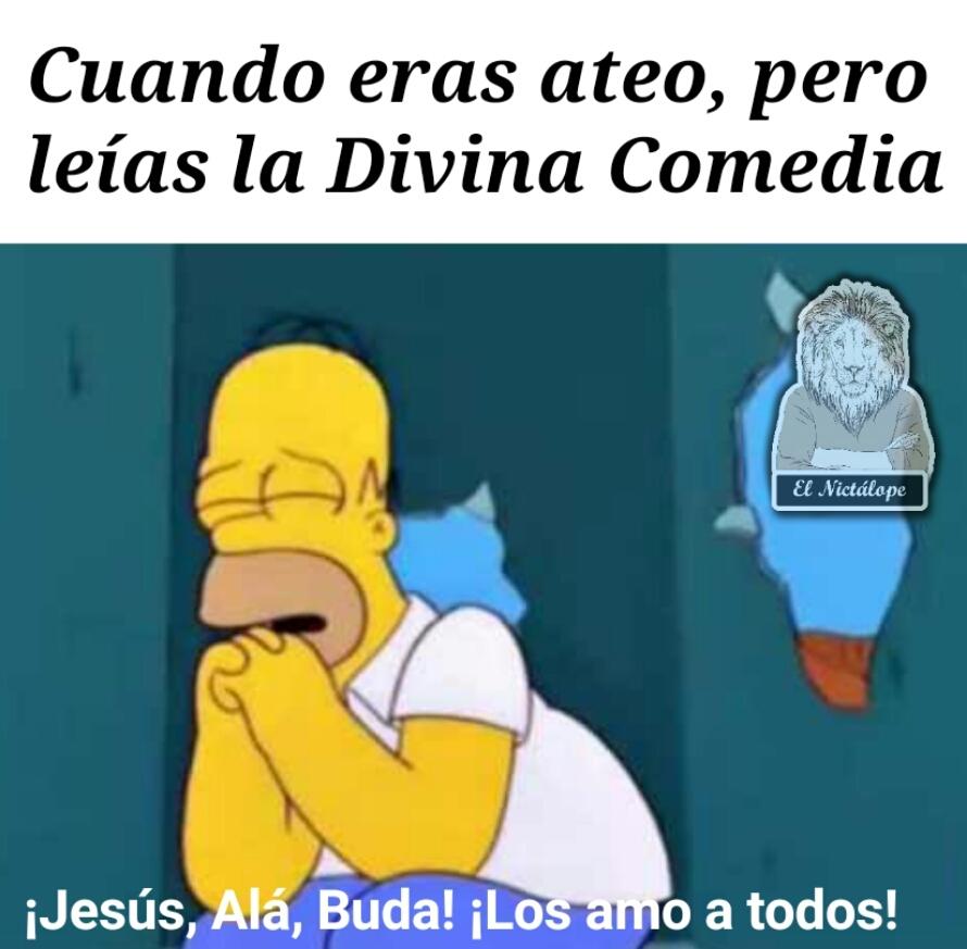 La divina comedia - meme
