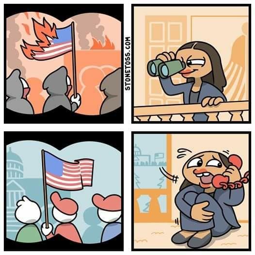 Alexandria Ocasio Smollet - meme