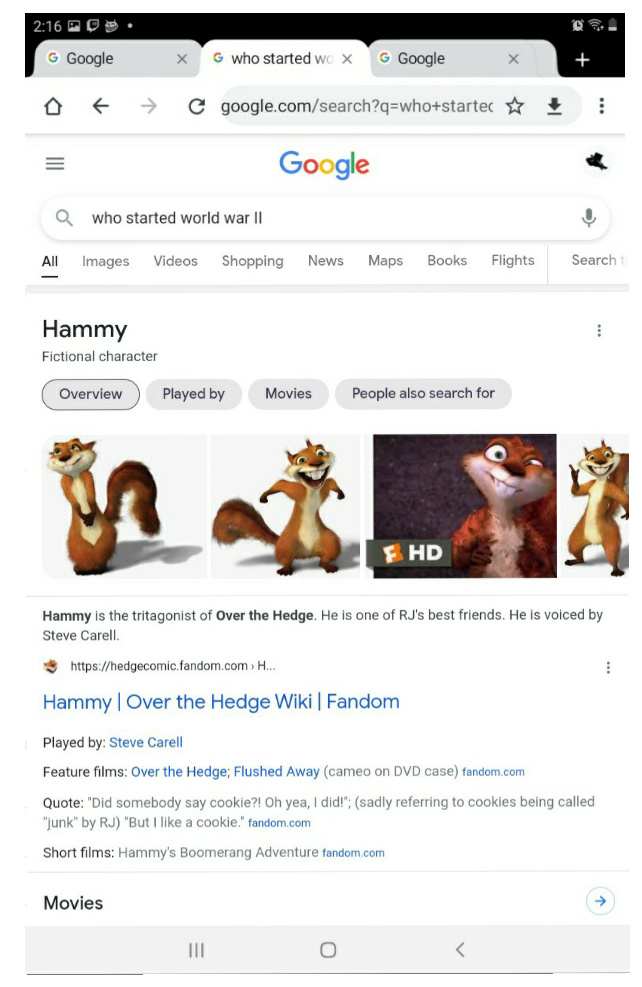 Hammy did it - meme
