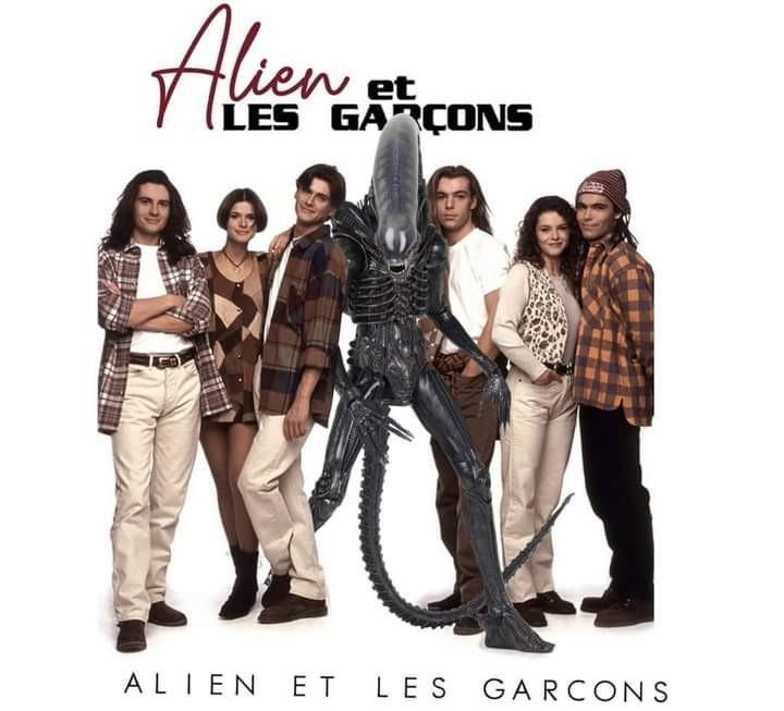 Ah les années 90 et les sitcoms pourries d'AB production. - meme