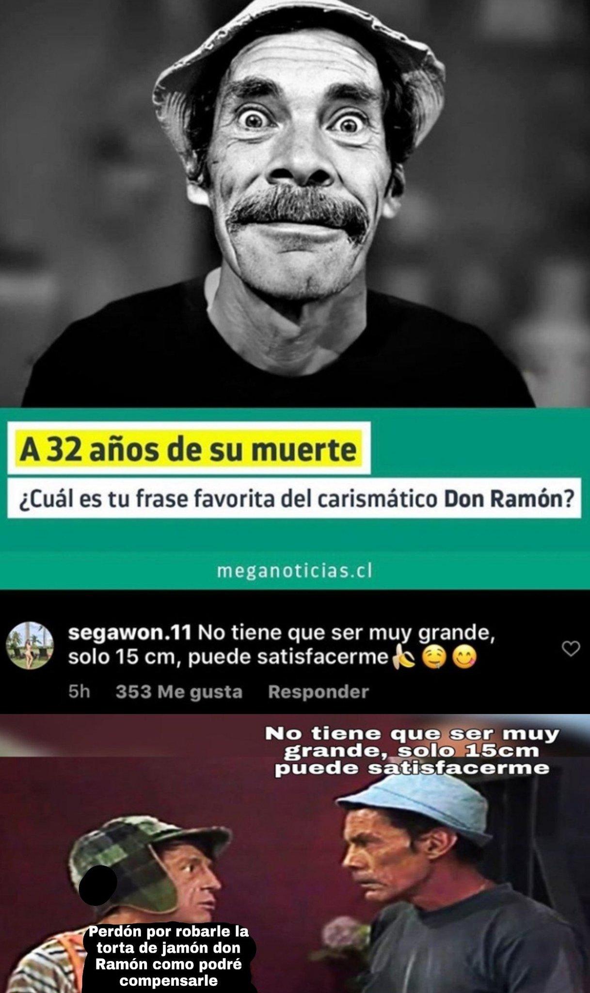 The Chad Don Ramón - meme