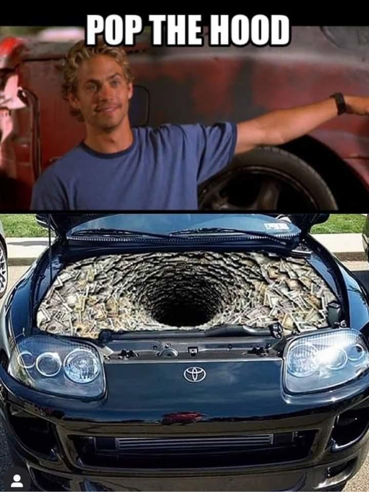 Toyota, ford, Hyundai, Nissan, Honda, Cadillac: - meme