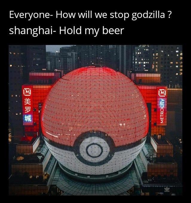 How to stop Godzilla - meme