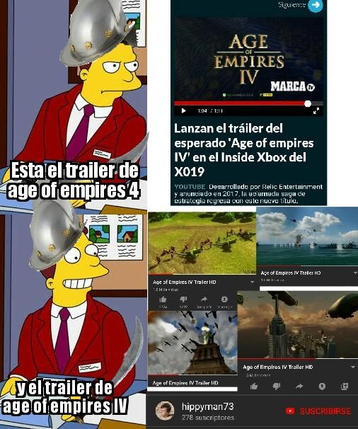 Un trailer fake de hace 8 años - meme
