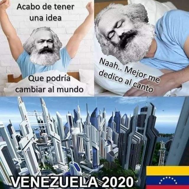 Ojalá Marx - meme