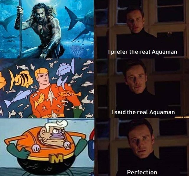 The real Aquaman - meme