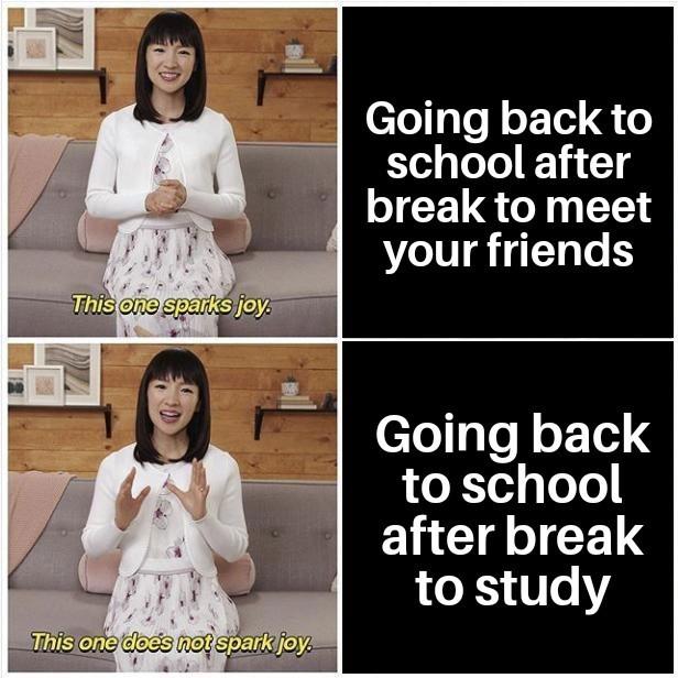After school break - meme