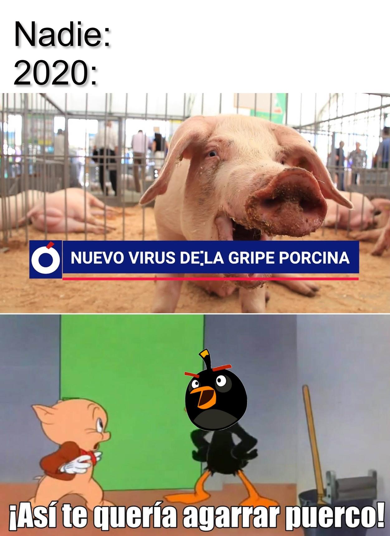 Otra pandemia >:( - meme