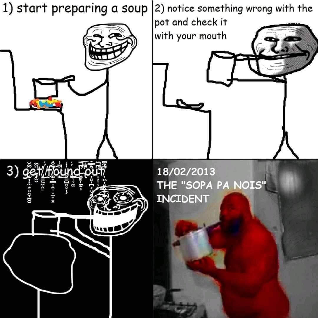 Sopa pa nois - meme