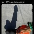what a artist