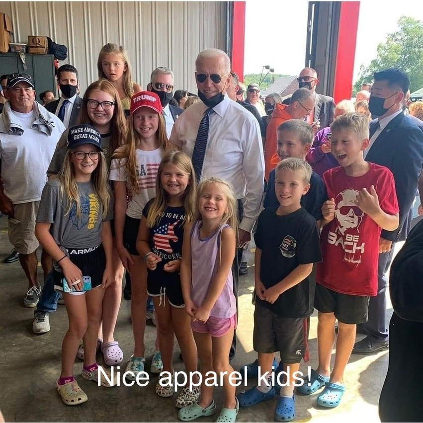 Nice apparel kids! - meme