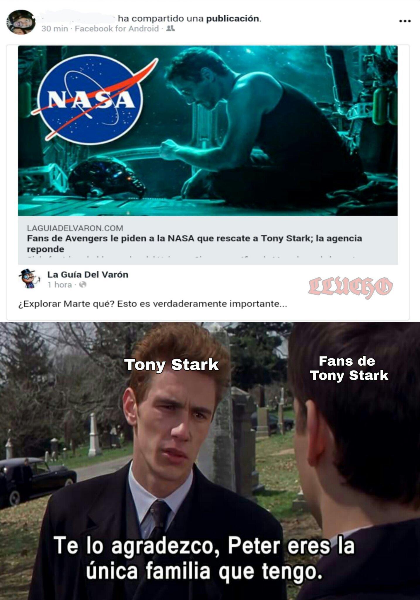 Pobre Tony - meme