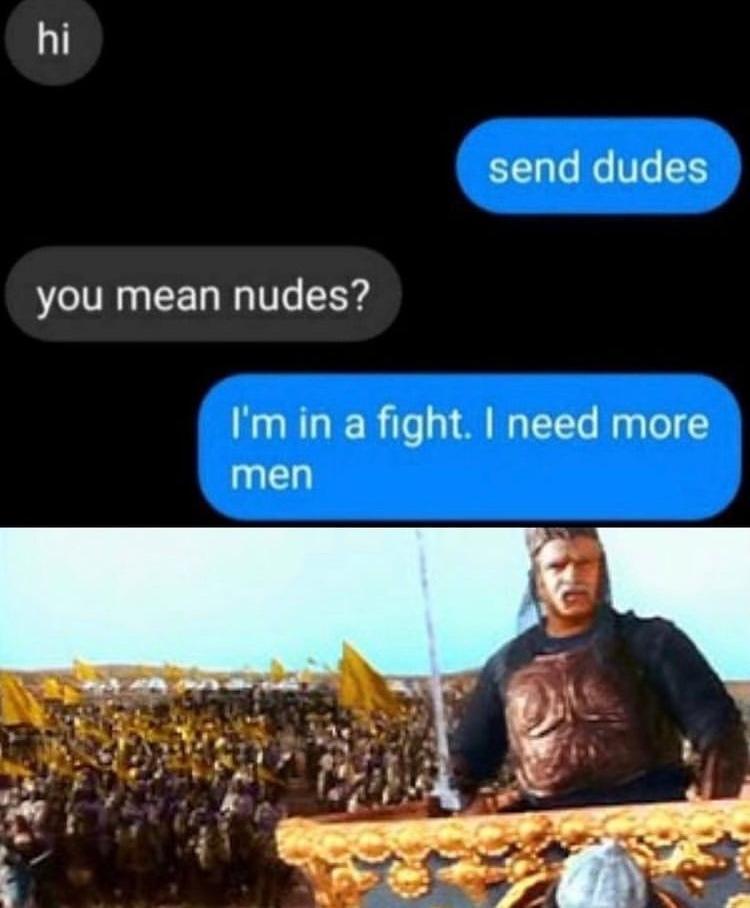 send backup - meme