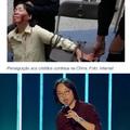 Na China é só paz e amor