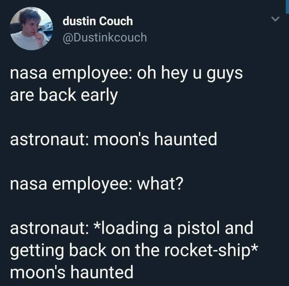 Moon ghosts - meme