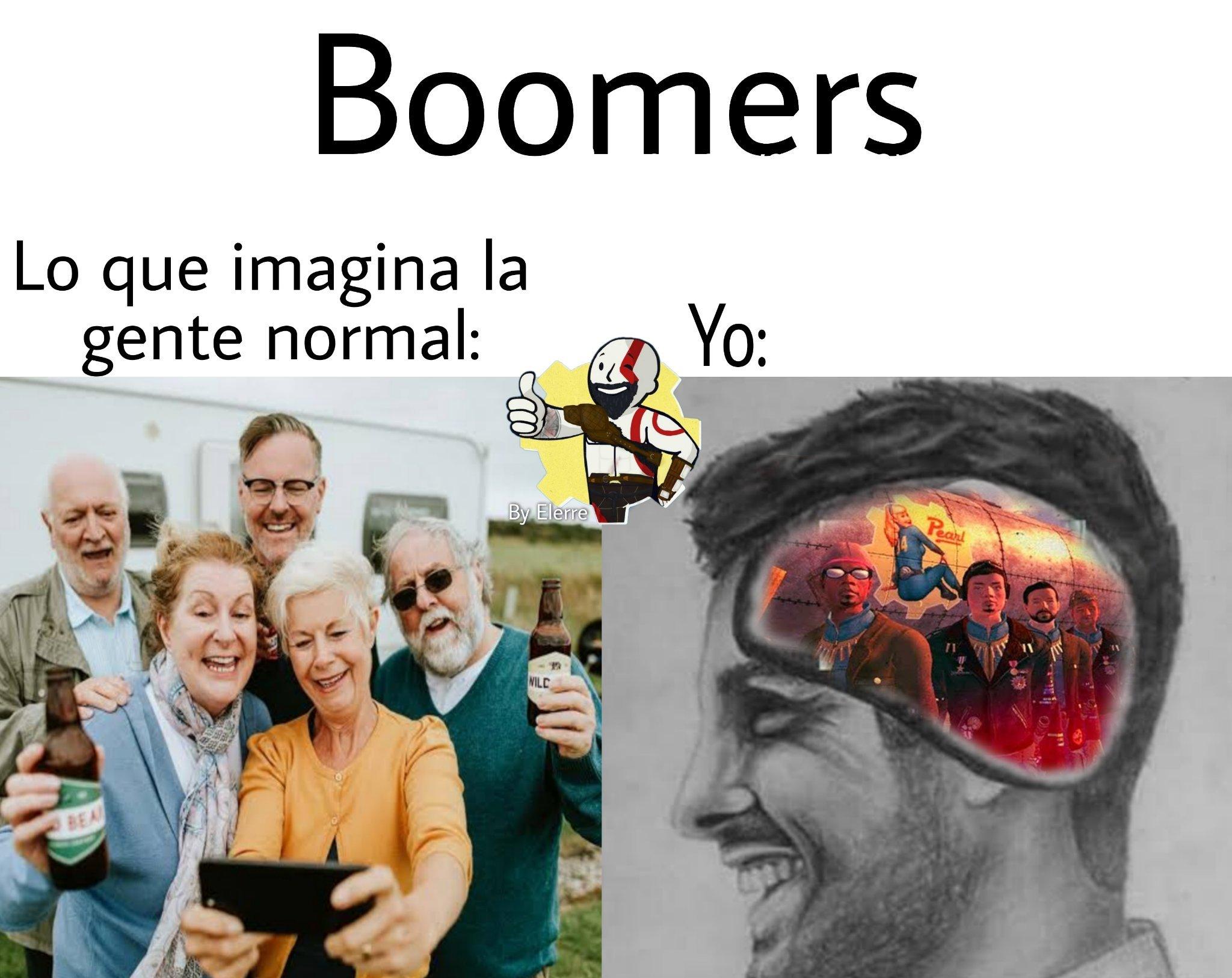 Los boomers son una faccion secundaria de fallout new vegas - meme