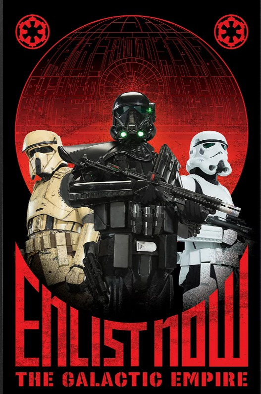 Enlist today! Ignore the lies of the Jedi! We also have chocolate cookies, they only have oatmeal raisin - meme
