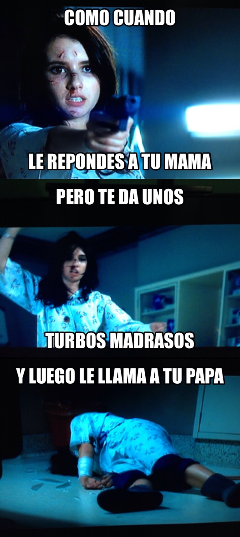 Scream risas - meme