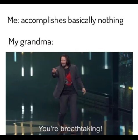Good old grandma - meme