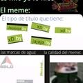 Hace mucho que no hago memes en memasik