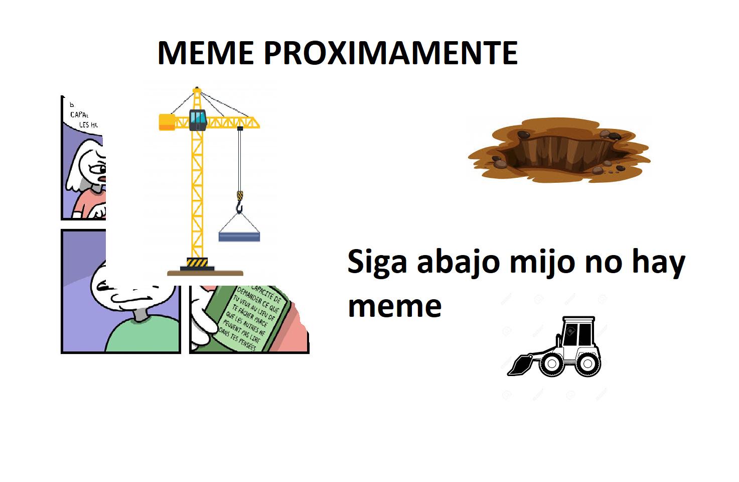 ayuden a construir - meme