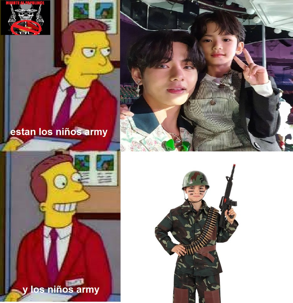 PÚDRANSE ARMYS - meme