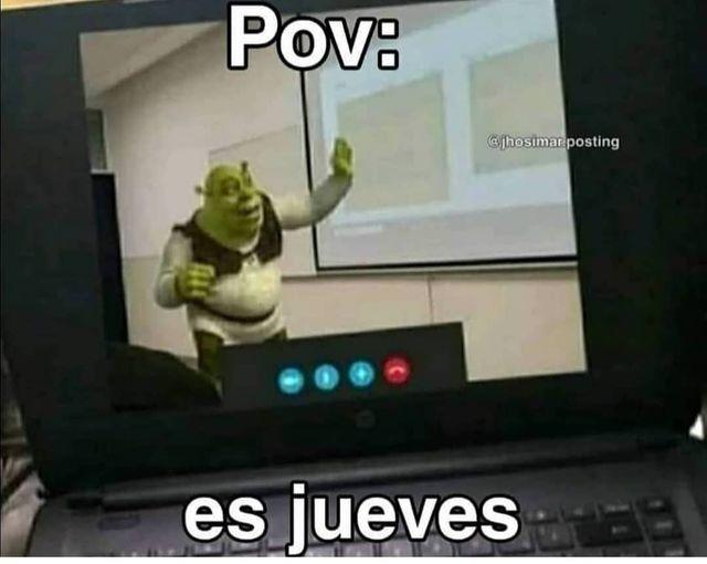 LO IBA A SUBIR EL JUEVES Y SE ME PASO XD - meme