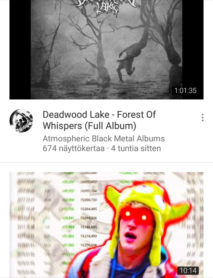 I was just scrolling through youtube then this happened - meme