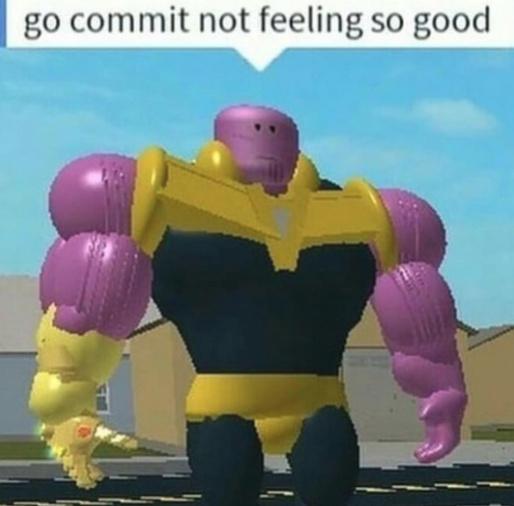 Go commit - meme