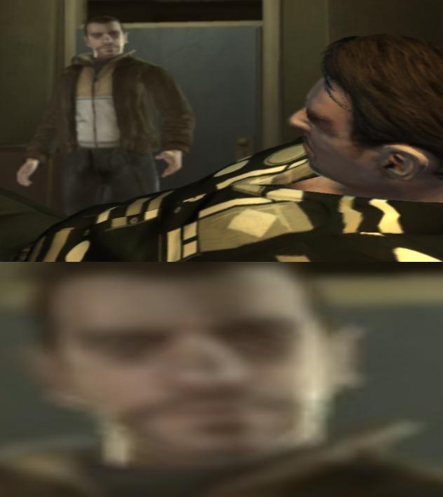 Roman, eso no era el sueño americano (no compren GTAs en Steam - meme