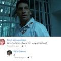 Rick has a crush on the Punisher