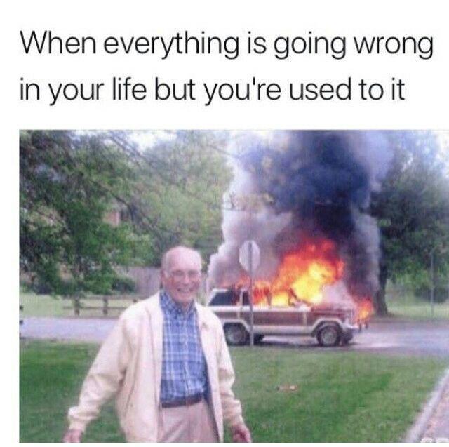 Hahaha life as it is - meme
