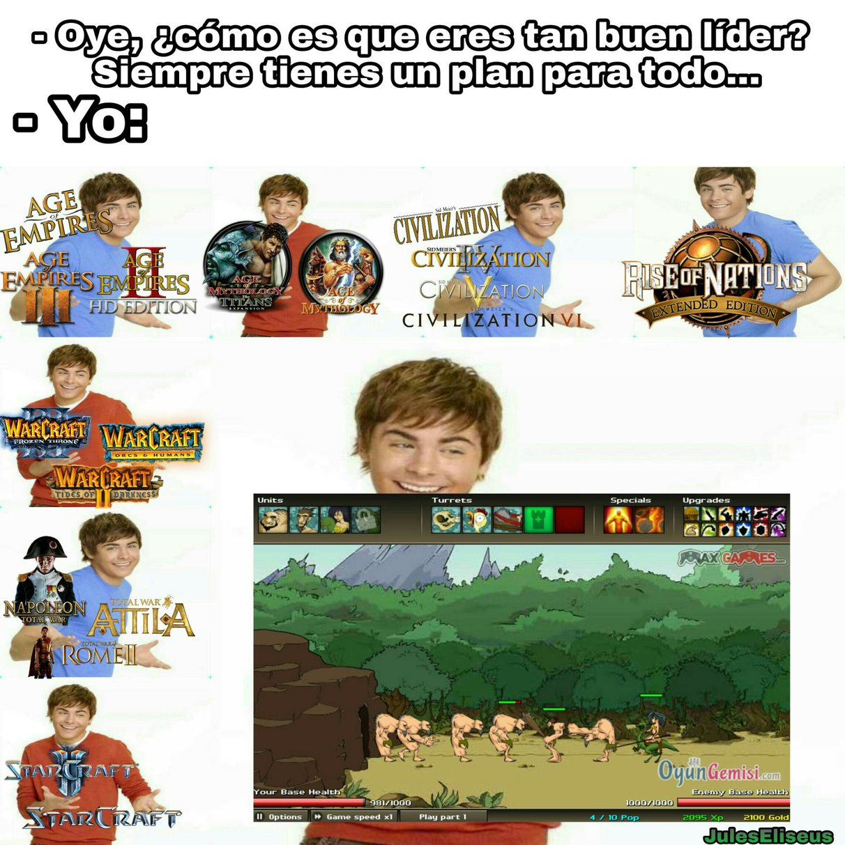 Age Of War, un juegazo - meme