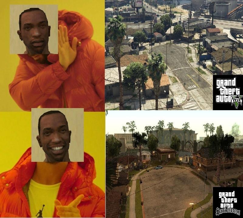 Grove Street trop de souvenir - meme