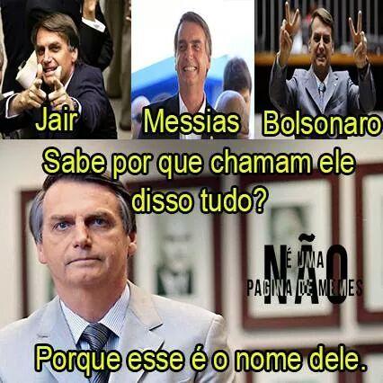 Bolsonaro 2016 - meme