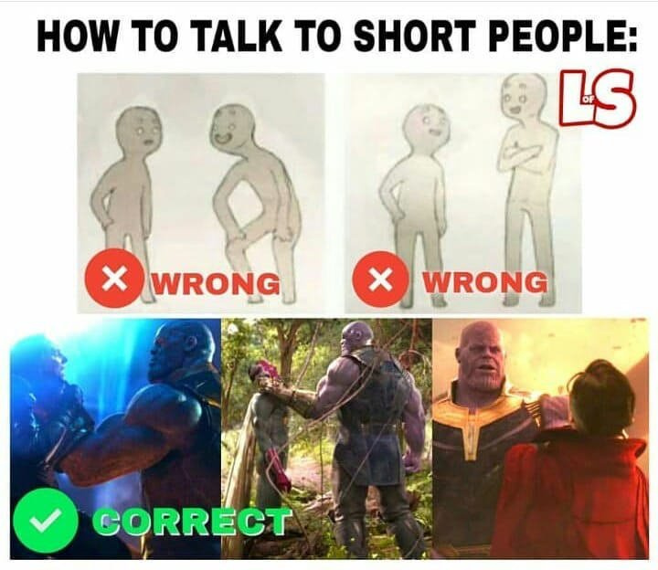 short people - meme