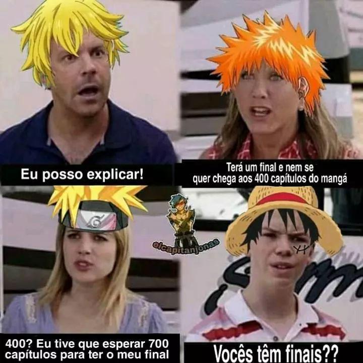 Macaco Luffy - meme