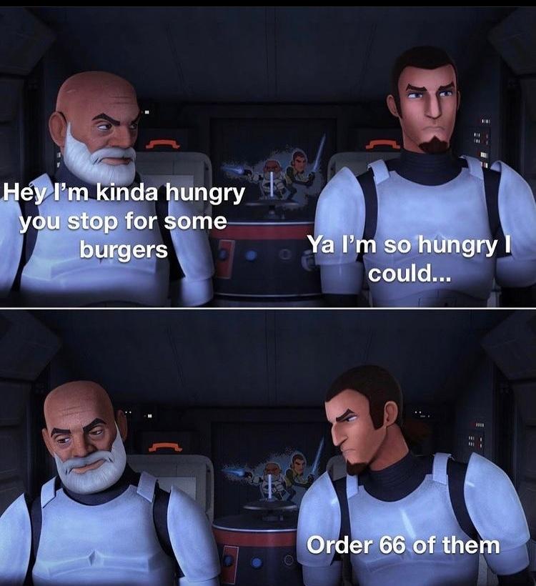 could you eat 66 - meme