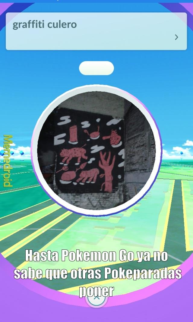 Solo Pokemon Go - meme