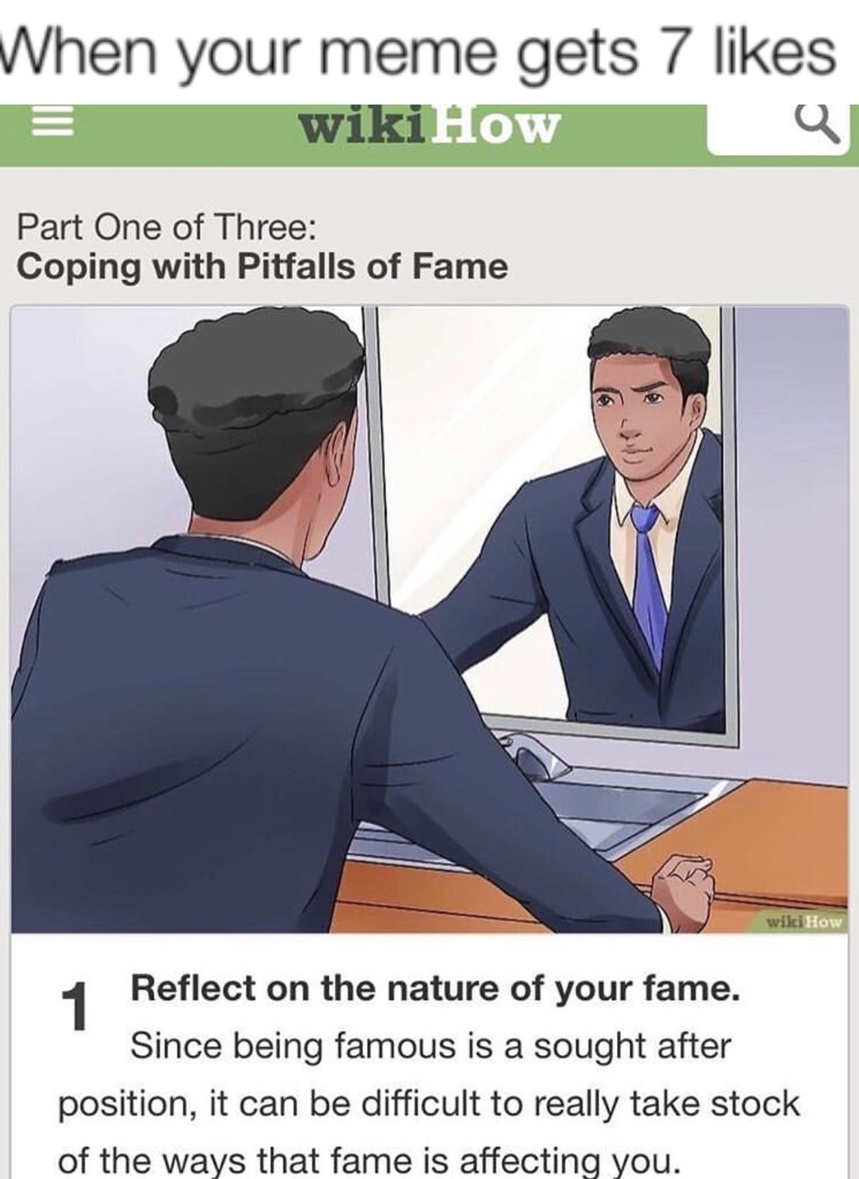 I'm famous mf - meme