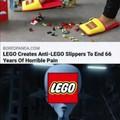 I use the LEGO to defeat the LEGO