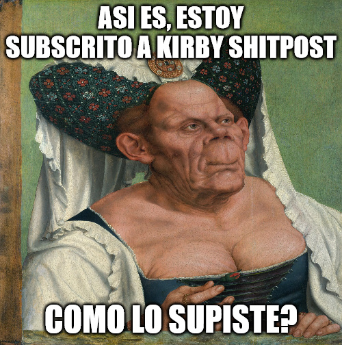 Muerte a Kirby Shitpost - meme