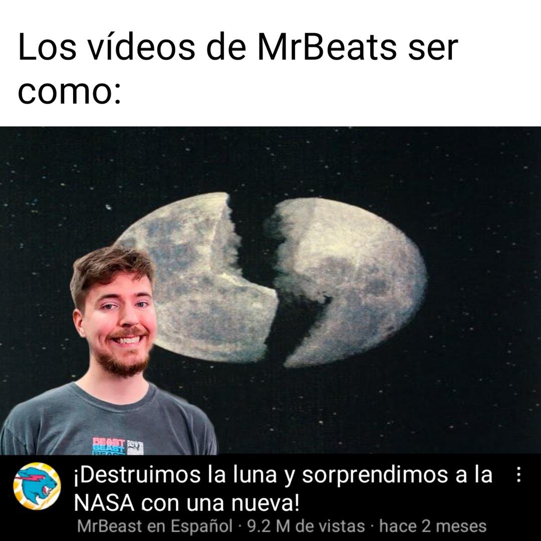 MrBeats en español - meme