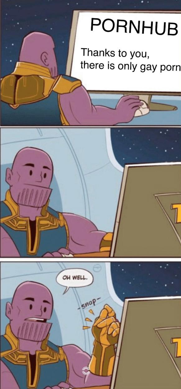 Why Thanos - meme