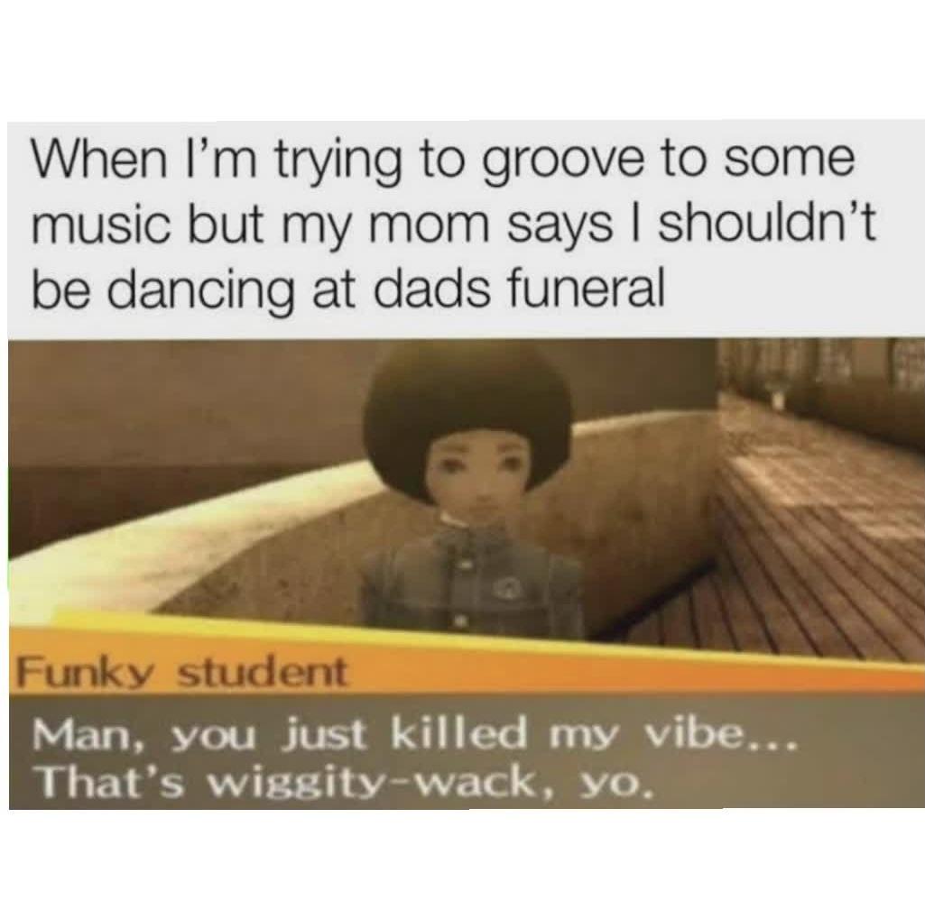 Wiggity wack - meme