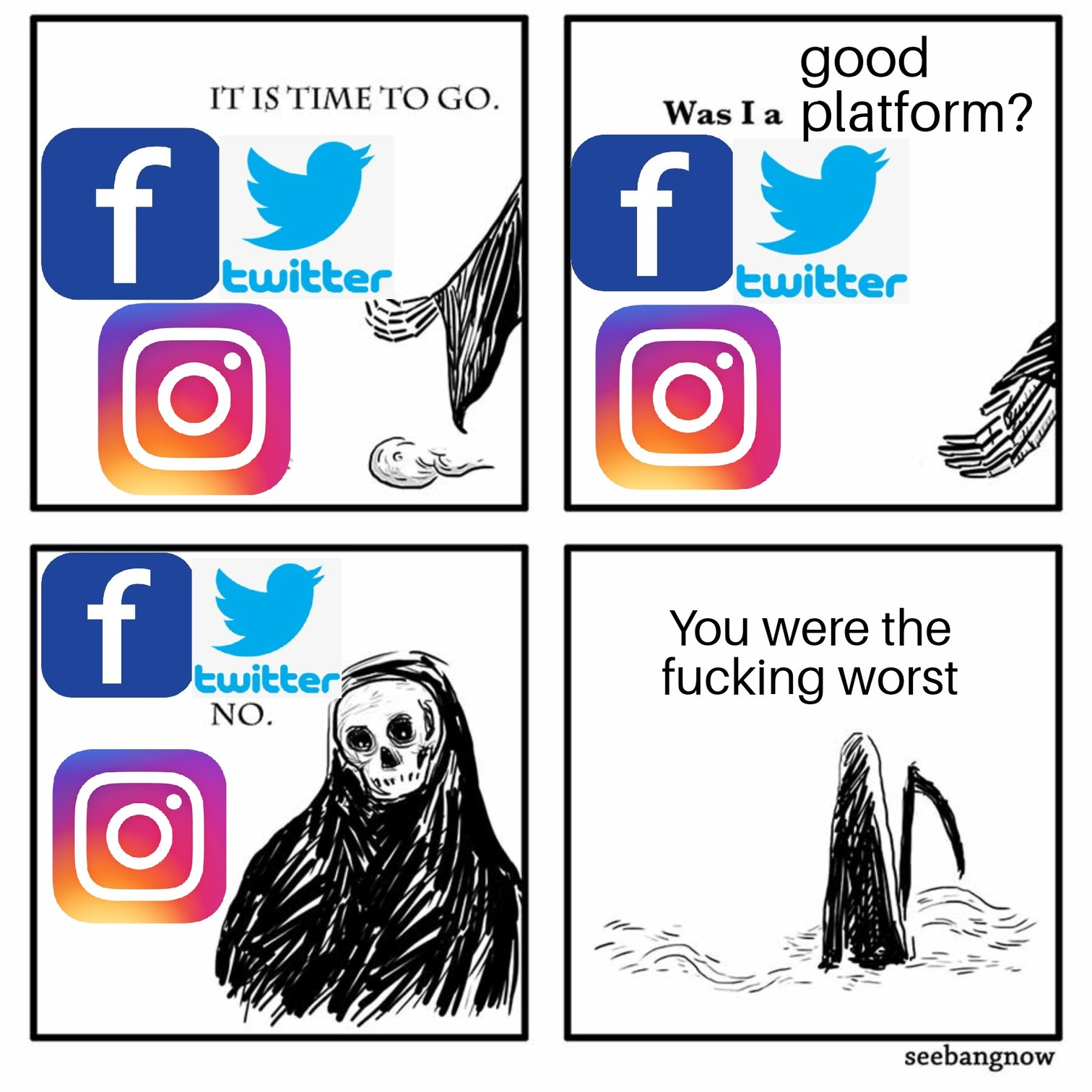 Absolute trash - meme