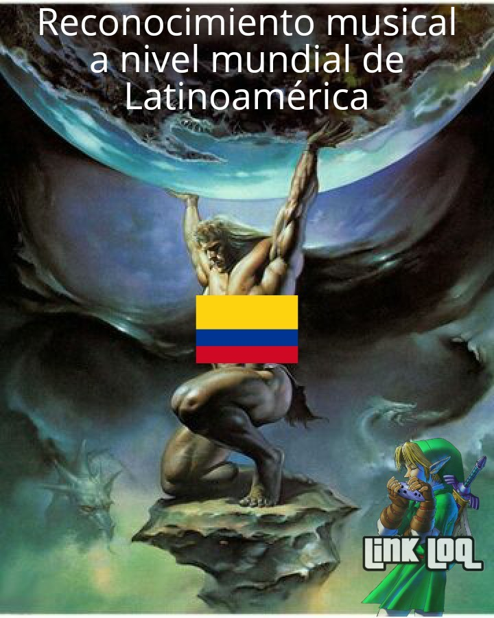 Literal todos los géneros populares latinos se crearon en Colombia - meme